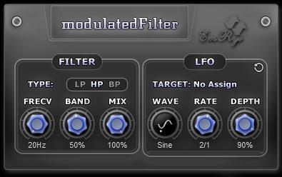 modulatedFilter Snapshot