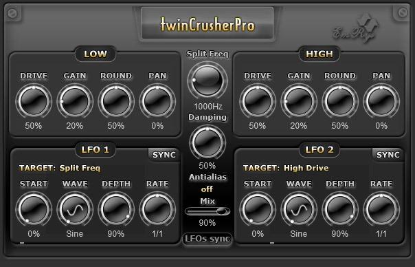twinCrusherPro Snapshot