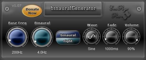 binauralGenerator Snapshot