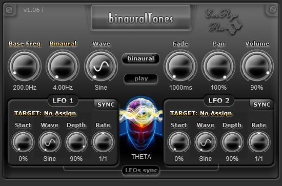 binauralTones Snapshot