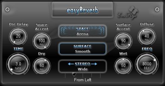 easyReverb Snapshot