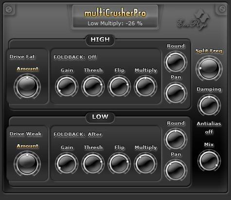 multiCrusherPro Snapshot